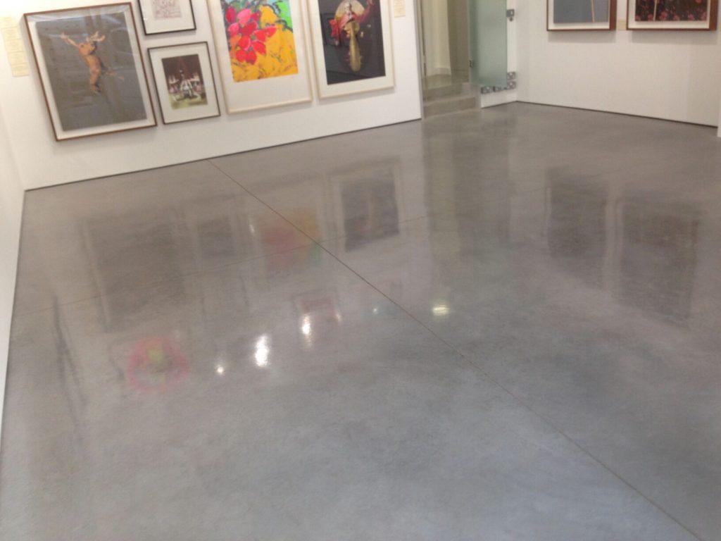 betonnen vloer